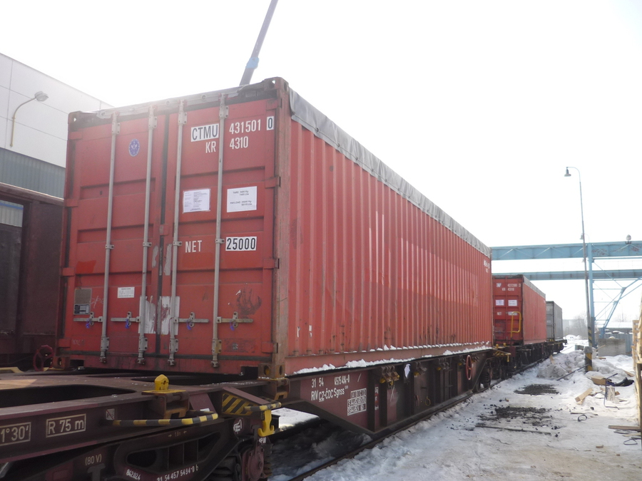 Transport of steel construction and sheathing to Turkmenistan